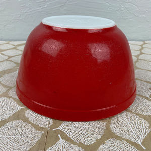 Pyrex Kitchen - Vintage Pyrex Primary 402 Red Mixing Bowl